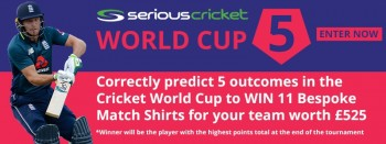 Serious Cricket World Cup 5