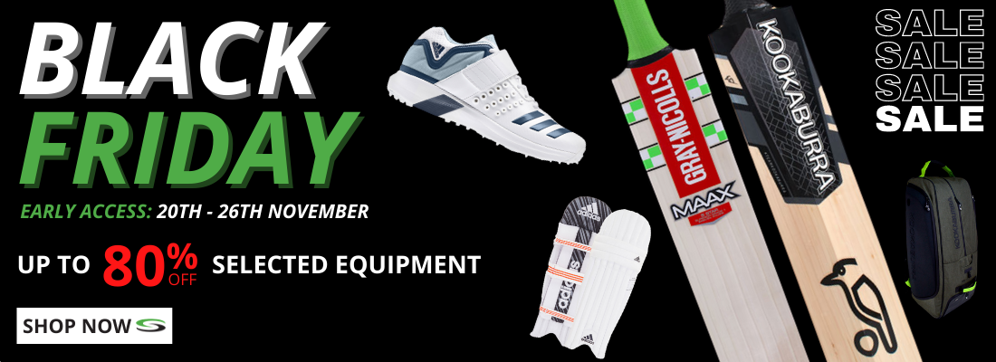 Black Friday Cricket Early Access Equipment 1100x400